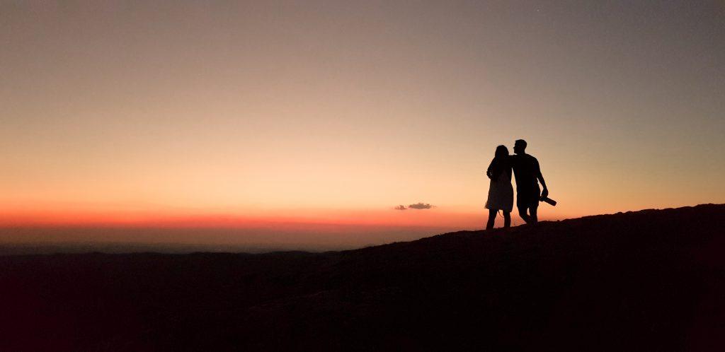 Bukit Wairinding di Sumba Timur merupakan spot sunset yang indah