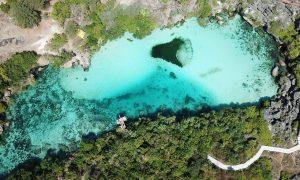 Weekuri Lagoon, danau air asin menjadi destinasi favorit wisatawan saat berlibur ke Sumba